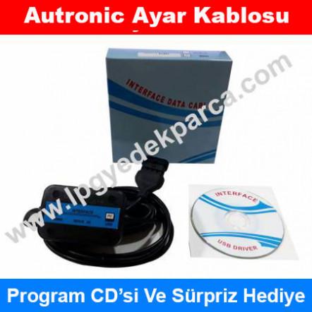 Autronic LPG Ayar Kablosu