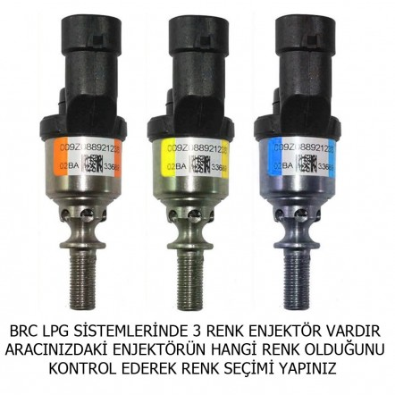 Brc Uyumlu Albien Enjektör Takımı