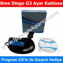 Kme Diego G3 Ayar Kablosu