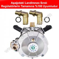 Landirenzo Sıralı Regülatör Su Dirseği