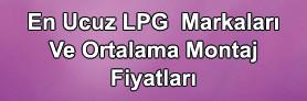En Ucuz LPG Sistemi