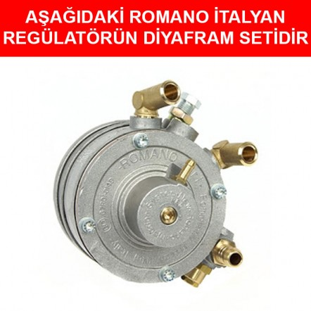 Romano Sıralı Tip Regülatör Diyafram Seti