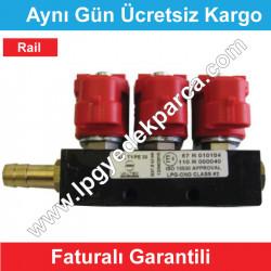 Rail Üçlü Enjektör