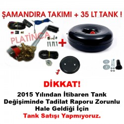 35 Lt Simit Lpg Tankı + Şamandıra