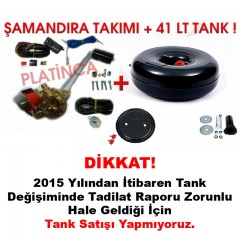 41 Lt Simit Lpg Tankı + Şamandıra