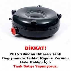 Atiker 31 Litre Dıştan Boğazlı Simit Tank