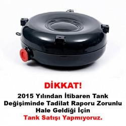 Atiker 38 Litre Dıştan Boğazlı Simit Tank