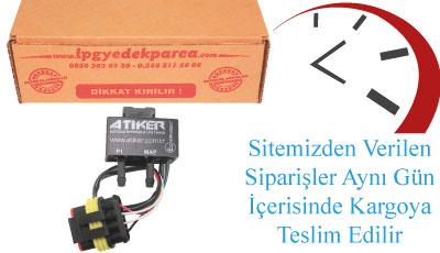 Atiker Fast Map Sensörü Paket İçeriği