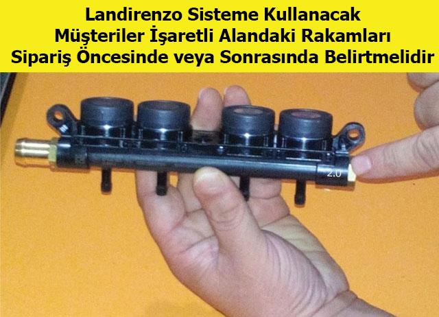 Landirenzo Orjinal Evo Enjektör